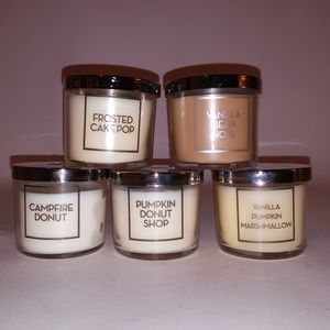(5) Bath & Body Works Candles